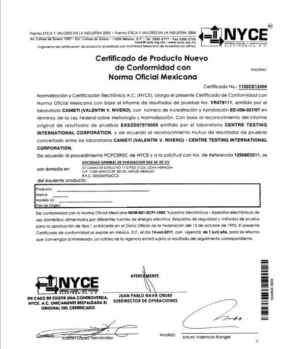 墨西哥NOM认证申请流程是什么?