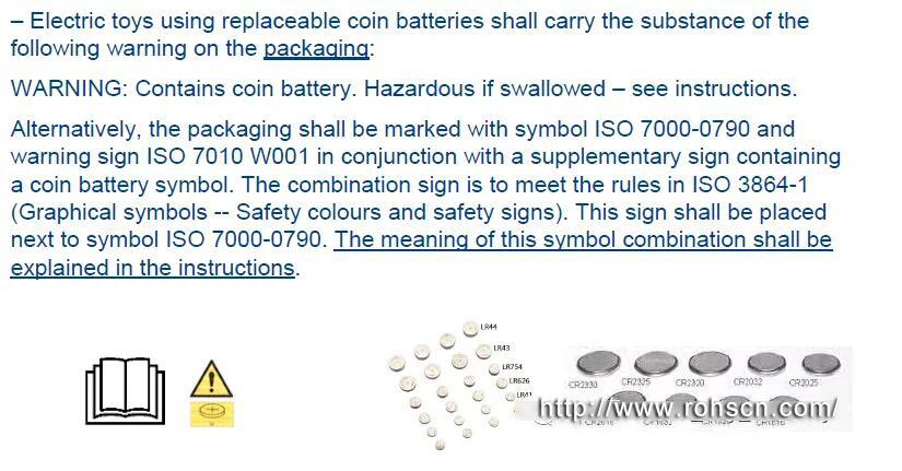 留意了!欧盟电动玩具安全标准EN IEC 62115:2020即将面世插图1